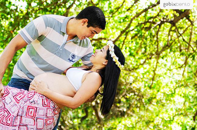 Book externo de grávida em Fortaleza