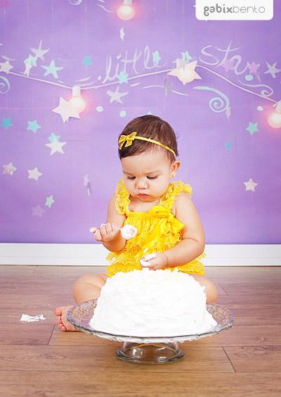 Ensaio Infantil de Aniversário - Smash the cake