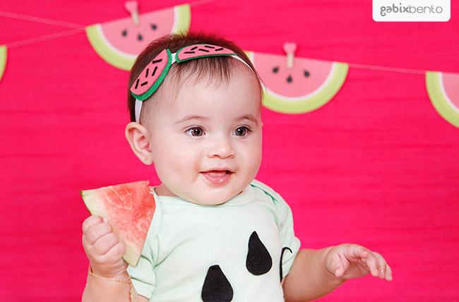 Smash the fruit em Fortaleza - Ensaio de fotos 1 aninho do bebê 02