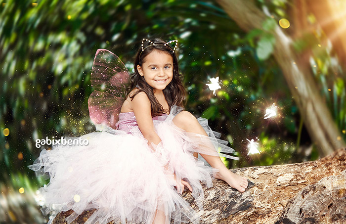 Ensaio Infantil temático fada e princesa Fortaleza