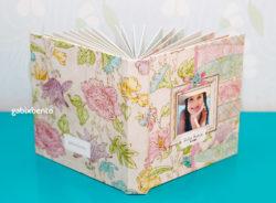 Álbum scrapbook infantil personalizado