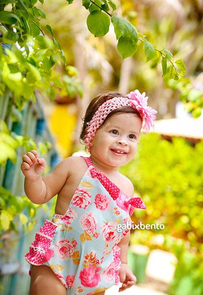Sess o fotografica bebe 1 ano fortaleza gabix bento for Jardineira bebe 1 ano