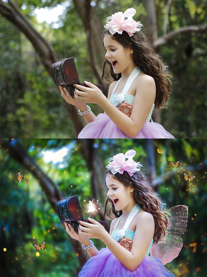 Antes e Depois Bastidores da Fotografia