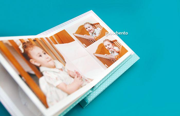 Álbum de fotos profissional infantil