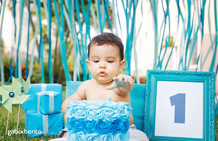 Fotos Smash the Cake Ensaio 1 ano em Fortaleza