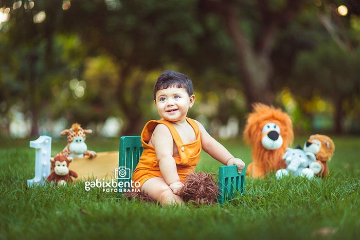 Book fotográfico infantil menino em Fortaleza