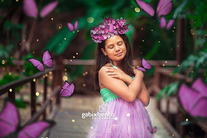 Book fotográfico menina 10 anos Fortaleza